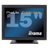 Iiyama ProLite T1531SAW 15 inch LCD Monitor Touchscreen 500:1 230cd/m2 1024x768 8ms D-Sub/DVI-D/USB/